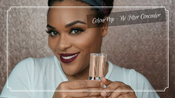 ColourPop No Filter Concealer| Buy orBye?!??!!