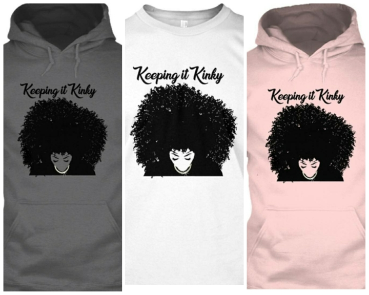 Hoodies and Tees for My natural Sistahs